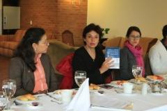 Angélica M. Pardo, Marcela Gutiérrez y Marcela Olarte